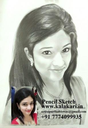 "Handmade graphite pencil sketch on 8.3""x11.7"" paper"